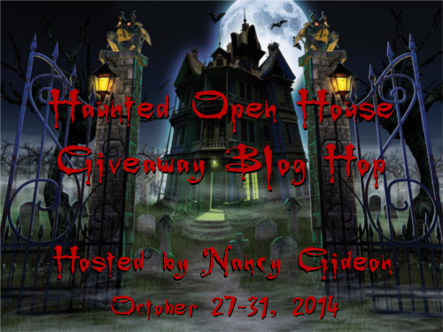 2014 Nancy Gideon Haunted Open House Hop Graphic