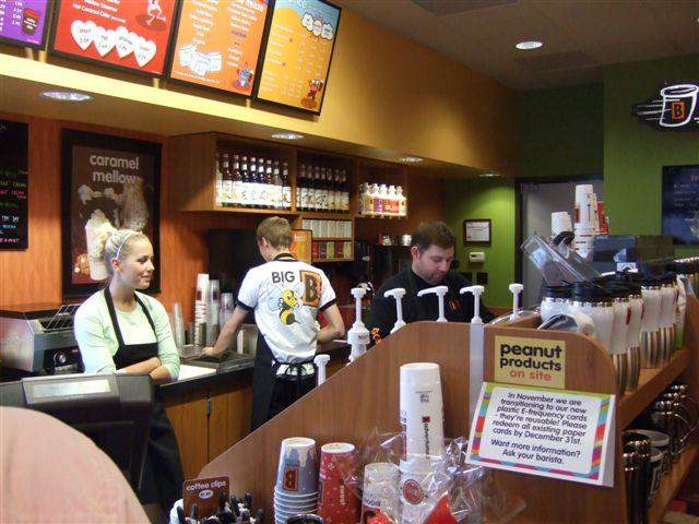 coffee shops 3 essay 2014-2-8  at a localized level, small coffee shops can compete with the likes of starbucks and dunkin brands because  31) starbucks core competence.
