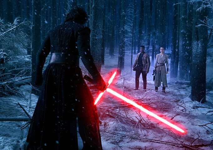 Star Wars - Rey & Kylo