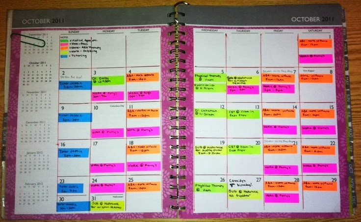 The joys of retirement jolana malkston for Color coding planner